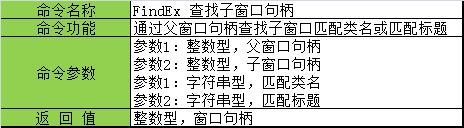 FindEx 命令