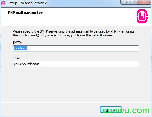 PHP邮件参数